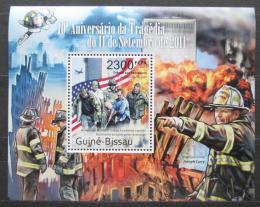 Poštovní známka Guinea-Bissau 2011 Teroristický útok 11.záøí Mi# Block 949 Kat 8€