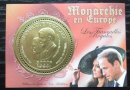 Poštovní známka Togo 2011 Princ William a Kate Middleton Mi# Block 609 Kat 12€