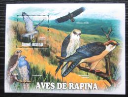 Poštovní známka Guinea-Bissau 2011 Dravci Mi# Block 902 Kat 12€