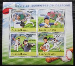 Poštovní známky Guinea-Bissau 2011 Baseball Mi# 5513-16 Kat 12€