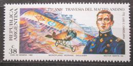 Poštovní známka Argentina 1993 Luis Cenobio Candelaria a letadlo Mi# 2174