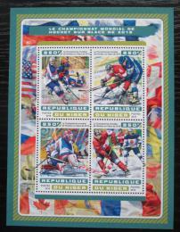 Poštovní známky Niger 2016 MS v ledním hokeji Mi# 4672-75 Kat 13€