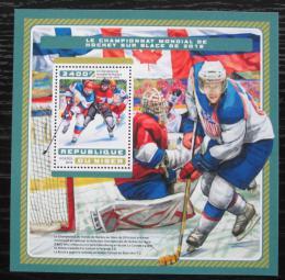 Poštovní známka Niger 2016 MS v ledním hokeji Mi# Block 639 Kat 13€