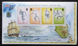 Poštovní známky Montserrat 1995 MS v lehké atletice Mi# Block 70 Kat 10€