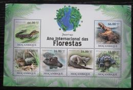 Poštovní známky Mosambik 2011 Kajman èerný Mi# 4308-13 Kat 11€