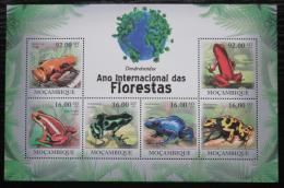 Poštovní známky Mosambik 2011 Žáby Mi# 4300-05 Kat 14€
