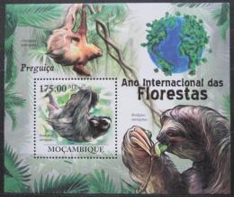Poštovní známka Mosambik 2011 Netopýøi Mi# Block 424 Kat 10€