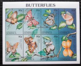 Poštovní známky Dominika 1997 Motýli Mi# 2258-65