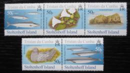 Poštovní známky Tristan da Cunha 2006 Fauna ostrova Stoltenhoff Mi# 911-15 12€