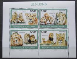 Poštovní známky Togo 2010 Lvi Mi# 3469-72 Kat 8.50€