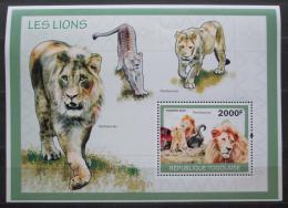 Poštovní známka Togo 2010 Lvi Mi# Block 505 Kat 8€