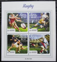 Poštovní známky Sierra Leone 2015 Rugby Mi# 6728-31 Kat 11€