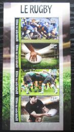 Poštovní známky Niger 2016 Rugby Mi# 4207-10 Kat 12€