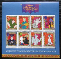 Poštovní známky Svatý Vincenc Gren. 1996 Disney, Chrám Matky Boží Mi# 3650-57