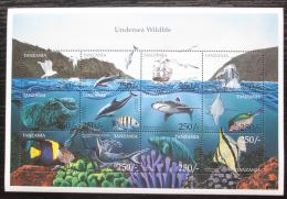 Poštovní známky Tanzánie 1999 Moøská fauna Mi# 3864-75 Kat 13€