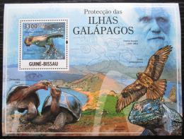 Poštovní známka Guinea-Bissau 2011 Fauna na Galapágách Mi# Block 905 Kat 13€