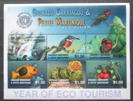 Poštovní známky Grenada Gren. 2002 Fauna a flóra Mi# 3780-85 Kat 10€