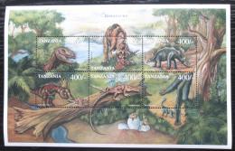 Poštovní známky Tanzánie 1997 Dinosauøi Mi# 3418-23 Kat 10€