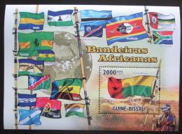 Poštovní známka Guinea-Bissau 2010 Vlajky afrických zemí Mi# 4931