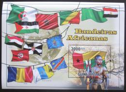 Poštovní známka Guinea-Bissau 2010 Vlajky afrických zemí Mi# Mi# 4930