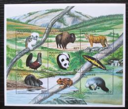 Poštovní známky Maledivy 1996 Fauna Mi# 2733-41 Kat 14€