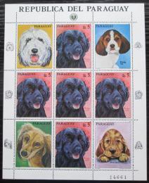 Poštovní známky Paraguay 1986 Psi Mi# 4018 Bogen Kat 15€