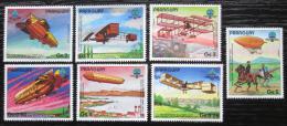 Poštovní známky Paraguay 1984 Historie letectví Mi# 3698-3704 Kat 8€