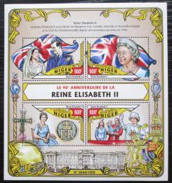 Poštovní známky Niger 2016 Královna Alžbìta II. Mi# 4007-10 Kat 14€