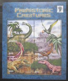 Poštovní známky Guyana 2001 Dinosauøi Mi# 7282-87 Kat 12€