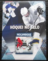 Poštovní známka Mosambik 2016 Lední hokej Mi# Block 1127 Kat 10€