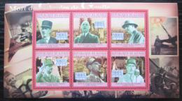 Poštovní známky Guinea 2010 Charles de Gaulle Mi# 7746-51 Kat 12€