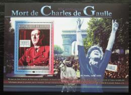 Poštovní známka Guinea 2010 Charles de Gaulle Mi# Block 1858 Kat 10€