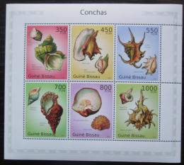 Poštovní známky Guinea-Bissau 2010 Mušle Mi# 5089-94 Kat 15€