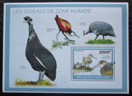 Poštovní známka Togo 2010 Ptáci Mi# Block 498 Kat 8€