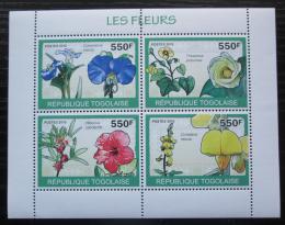 Poštovní známky Togo 2010 Kvìtiny Mi# 3389-92 Kat 8.50€