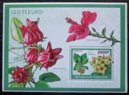 Poštovní známka Togo 2010 Kvìtiny Mi# Block 489 Kat 8€