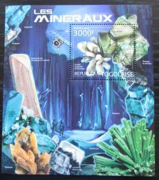 Poštovní známka Togo 2012 Minerály Mi# Block 696 Kat 12€