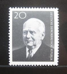 Poštovní známka DDR 1960 Prezident Wilhelm Pieck Mi# 784