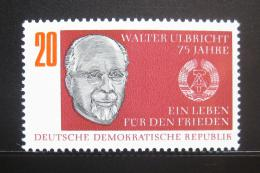 Poštovní známka DDR 1968 Prezident Walter Ulbricht Mi# 1383