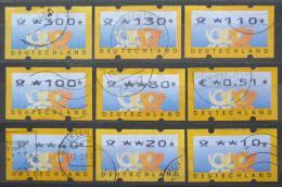 Poštovní známky Nìmecko 1999 ATM, automatové Mi# 3 Kat 19.50€