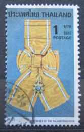 Poštovní známka Thajsko 1979 Královský øád Mi# 923