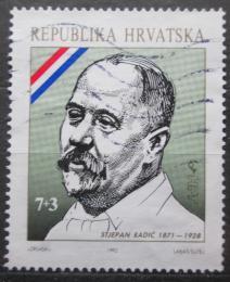 Poštovní známka Chorvatsko 1992 Stjepan Radiè, politik Mi# 192