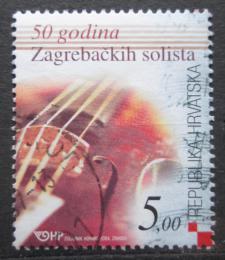 Poštovní známka Chorvatsko 2004 Housle Mi# 671
