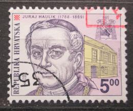 Poštovní známka Chorvatsko 1999 Kardinál Juraj Haulik Mi# 497