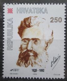 Poštovní známka Chorvatsko 1992 B. Lorkoviè, spisovatel Mi# 220