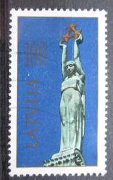 Poštovní známka Lotyšsko 1991 Památník svobody Mi# 322