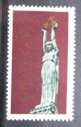 Poštovní známka Lotyšsko 1991 Památník svobody Mi# 321