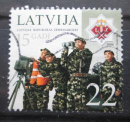 Poštovní známka Lotyšsko 2006 Lotyšská armáda, 15. výroèí Mi# 680