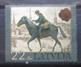 Poštovní známka Lotyšsko 2007 Poštovní doručovatel Mi# 711 - zvětšit obrázek