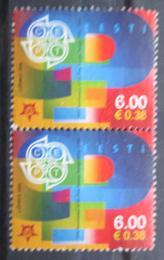 Poštovní známky Estonsko 2006 Výroèí Evropa CEPT pár Mi# 537
